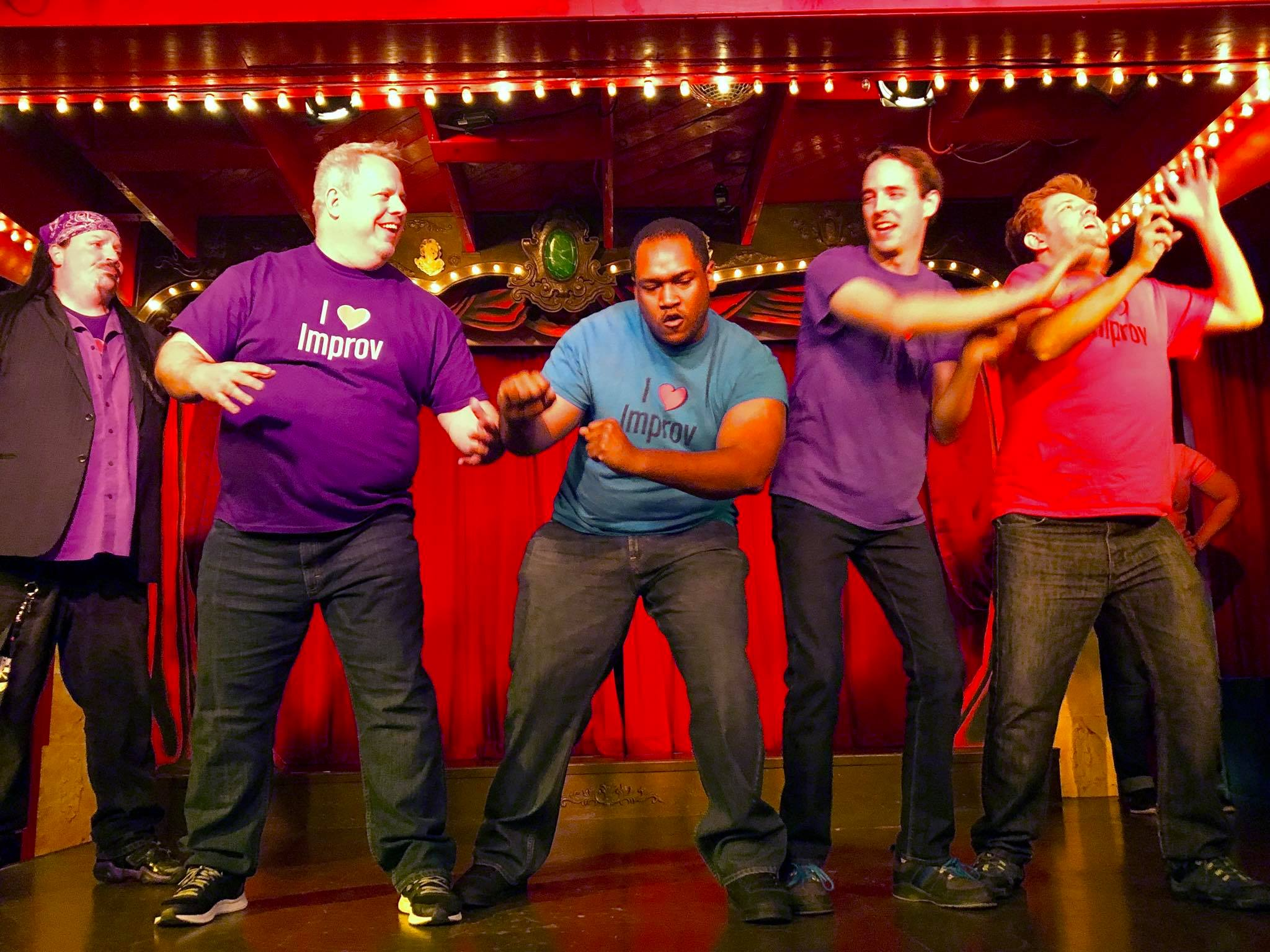 Celebrating Voices October 30th Your >> Intermediate Improv Comedy Classes October 30th December 4th